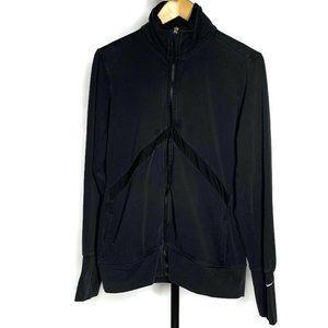Nike Black Full Zip Sweater Jacket Coat, Size XXL